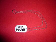 Die Hard Trilogy Dog Tag