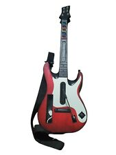 Nintendo Wii Guitar Hero Controller Band Hero Wireless GH5 Red White Tested