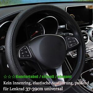 Lenkradbezug 37-38cm Universal Lenkradhülle Lenkradschoner Echtes Neu