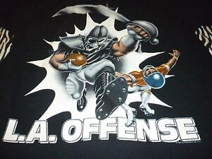 L.A.Offense Vintage Shirt ( Used Size L ) Very Good Condition!!!
