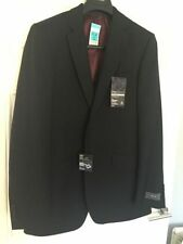 Wool Blend Pinstripe Long Blazers Suits & Tailoring for Men