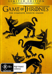 Game of Thrones The Complete Fourth Season -DVD War Series -Excellent
