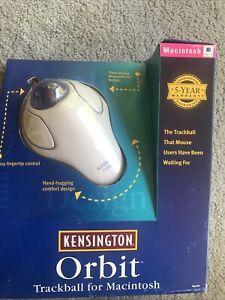 Kensington Orbit Trackball Vintage Computer Mouse Macintosh Sealed NIP NOS VTG