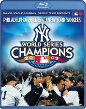 2009 NEW YORK YANKEES MLB: THE OFFICIAL WORLD SERIES FILM BRAND NEW BLU-RAY DISC