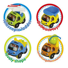 Tooneyville Cartoon Cars (Multicolor)