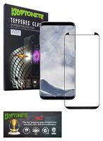 KRYPTONITE Protector de Pantalla de Vidrio Templado para Galaxy S8 Plus