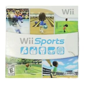 Nintendo Wii Sports Complete Manual Tested Works 2007 Sleeve Case