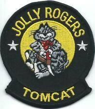 "PATCH US NAVY   VF-84  ""JOLLY ROGERS""  TOMCAT   # 1"