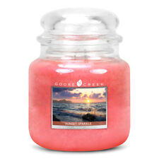 Goose Creek - DOUBLE WICK MEDIUM JAR CANDLE - Sunset Sparkle