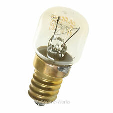 DELONGHI E14 15W Oven Cooker Lamp Bulb Heat Resistant Light 300°C