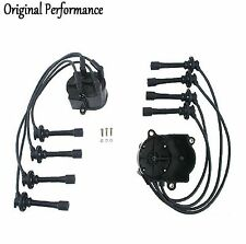 OPPARTS Distributor Cap/Spark Plug Wire Kit for Toyota Corolla 1.6L 1989-1992