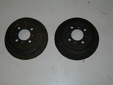 coppia tamburi freno/drum brakes  fiat 500 c topolino