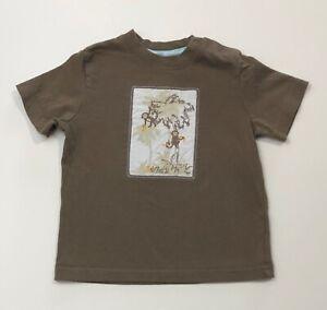 JANIE AND JACK Jungle Paradise Monkey Tee Shirt Size 12-18 Months