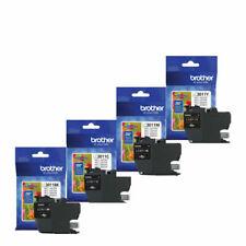 Brother LC3011 BK/C/M/Y GENUINE Ink Cartridge Set (200 Yield) exp 2023
