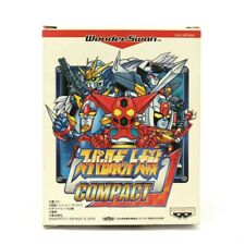 Wonder Swan game - Super Robot Taisen: Compact JAPAN boxed  MINT CONDITION