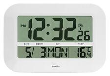 XXL Jumbo Radio Controlled Digital Silent Wall Clock ( UK & Ireland  Version )