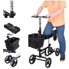 2020 New Knee Walker Scooter Mobility Alternative Crutches Wheelchair Portable