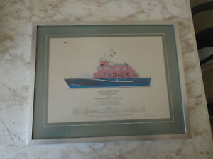 RNLI Penlee Lifeboat Arun Class Print Limited Edtion 115/500