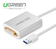 Ugreen USB 3.0 to DVI HDMI VGA External Video Graphic Card Adapter For Monitors
