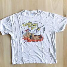 Vintage Bootleg Racy Flintstones T Shirt Mens Size Xl