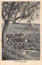 AK Bad Mergentheim Ortsansicht Postkarte gel. 1942