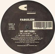 FABULON - Say Anything (MK Remix) - charisma