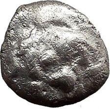 Parion in MYSIA 480BC Gargoneion Medusa  Ancient Silver Greek Coin Rare  i21842
