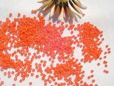 11/0 Toho Seed Beads 69-Opaque Rainbow Pumpkin/28 grams  # 410