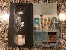 The Ring Vhs! 2002 Thriller! (See) One Missed Call Dark Water Pulse Scary Movie