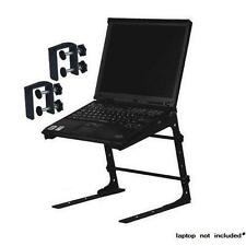 PA Mixer Studio Laptop Computer Table Top DJ Rack Stand Mount Clamp Case L Gear