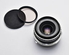 JENA Tessar f/2.8 50mm Prime Lens Caps & Filter M42 Carl Zeiss (#3072)