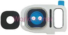 Lente Cámara W Cubierta Camera Lens Frame Original Glass Samsung Galaxy S7
