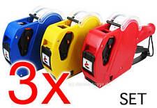 3 x Preisauzeichner Etikettierer Auszeichner MX-5500 EOS Professional 12x21 mm