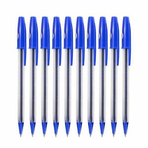 Uni-Ball SAR Ball Pen Blue Ink Pack of 10