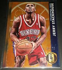 Jerry Stackhouse 2015-16 Panini Gold Standard AU SHORT PRINT SP Card (#'d 31/79)
