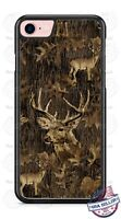 Deer Hunting Camouflage Design Phone Case for iPhone Samsung Google LG etc.
