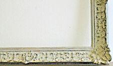 Holzrahmen hellgrau Innenmaß ca. 46x56 cm