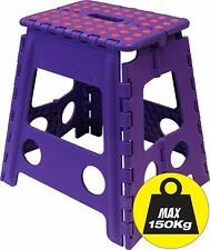 P-Wham Tall Folding Step Stool - 201417 - color may vary