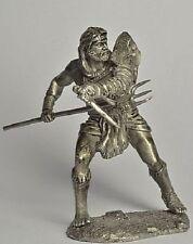 Ancient Rome, Gladiator Retiarius. 54 mm Lead Figure