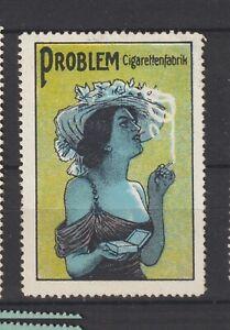 German Poster Stamp Cigarettes
