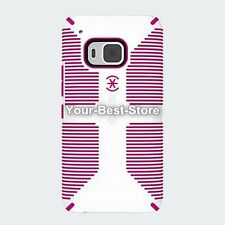 Speck CandyShell Grip for HTC One M9 - White/Lipstick Pink