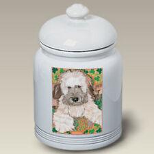 Soft Coated Wheaten Terrier Treat Jar