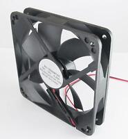 Brushless DC Cooling Fan 7 Blade 5V 120x120x25mm Fit computer case power supplie