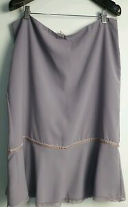 Anthea Crawford Lilac Skirt Size Size 16