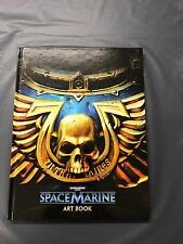 Warhammer 40000 space marine collectors edition livre d'art nouveau libre p&p uk