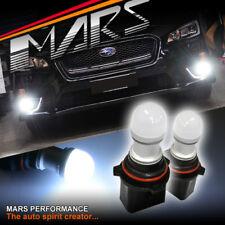 2x MARS High Power P13W 3D LED SMD DRL Fog Light bulbs for Subaru WRX 14+