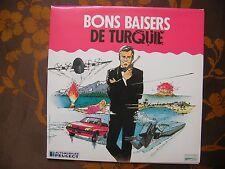 LP GATEFOLD BONS BAISERS DE TURQUIE - Jeu Concours Organisé Par Peugeot / J.Bond