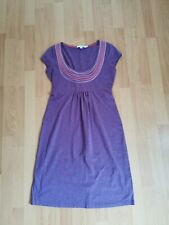 Ladies Boden Jersey Summer purple Dress Size UK 10