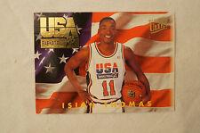 NBA CARD - Fleer Utra - USA Basketball Series - Isiah Thomas - Pistons