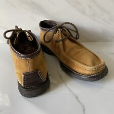 Materia Prima by Goffredo Fantini  Suede Leather Low Boots Chukka Boots Ankle